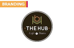 The Hub | Cafe & Bistro – Branding