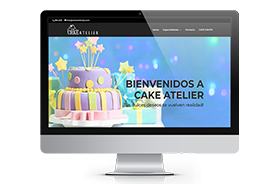 Cake Atelier – Web Design