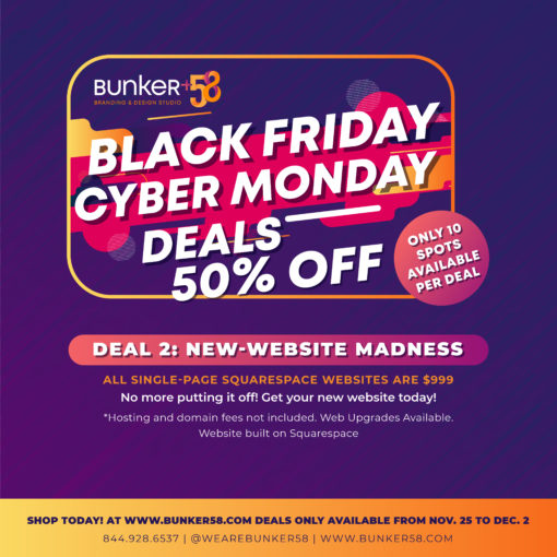 Black Friday Bunker58 Website Crazy Deal