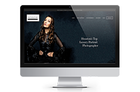 Courtney Antoinette Portraits – Web Design
