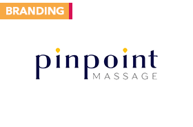 Pinpoint Massage – Rebrand