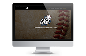 The Cage Houston – Web Design